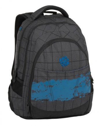 Bagmaster Studentský batoh DIGITAL 8 D black/gray/blue