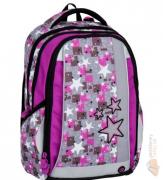 Bagmaster školní batoh MERCURY 7 A PINK GREY + doprava zdarma bd244c6e19
