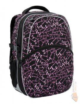 6736999db7 Bagmaster Školní batoh MADISON 6 A Black pink poslední kus z prodejny