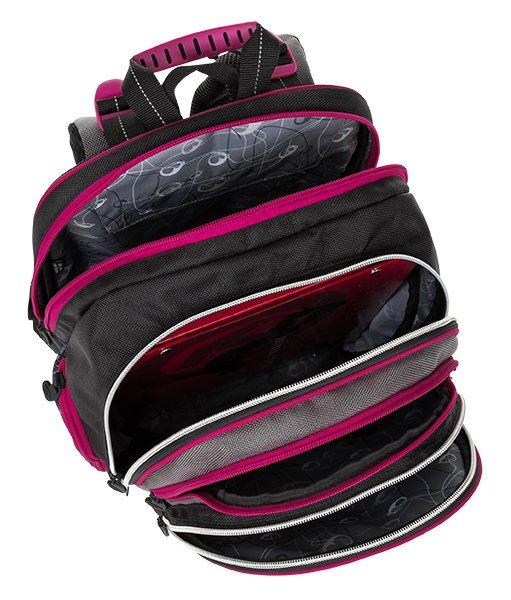 Bagmaster Dívčí školní batoh ELEMENT 8 A černá c7e84af93f