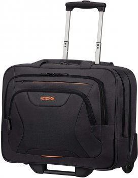 "AMERICAN TOURISTER Pracovní kufr AT WORK ROLLING TOTE 15.6 "" BLACK/ORANGE 88533-1070"