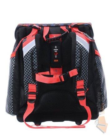 Bagmaster Školní aktovka pro prvňáčky A 0715 B BLACK RED   Kabelky ... 540489b85b