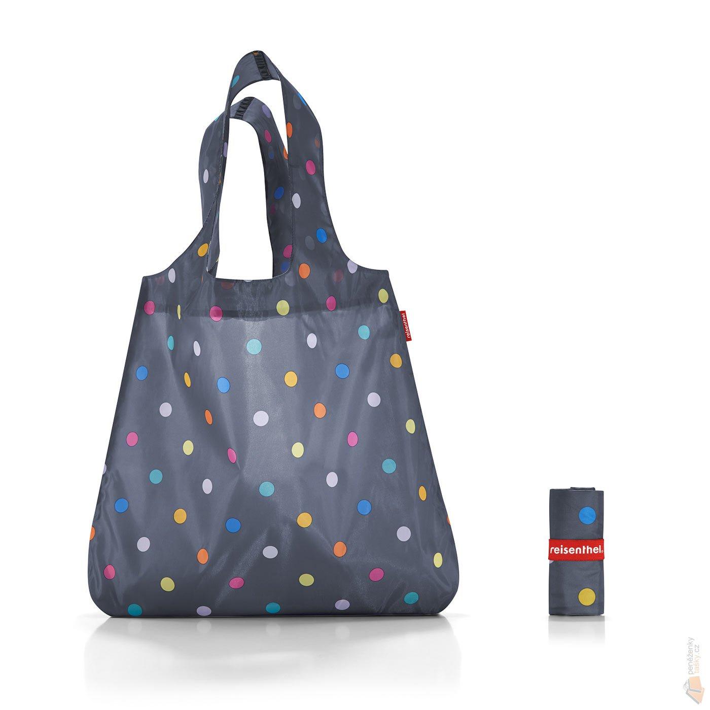 fbc10f1395 Reisenthel Nákupní taška Mini Maxi shopper AT4057 marine dots ...