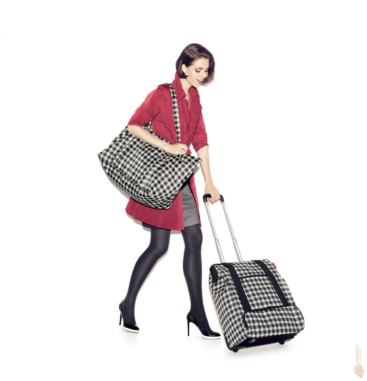 ec024d39b0 Reisenthel Skládací taška Mini Maxi Travelshopper ruby dots - AE3014 ...