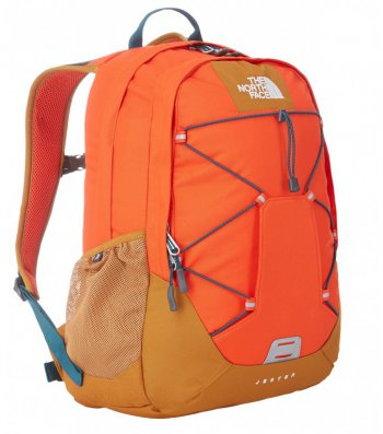 The North Face Studentský batoh Jester T0CE83ADX-OS orange/timber