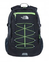 The North Face Batoh Borealis Classic Asphalt Grey/Power Green