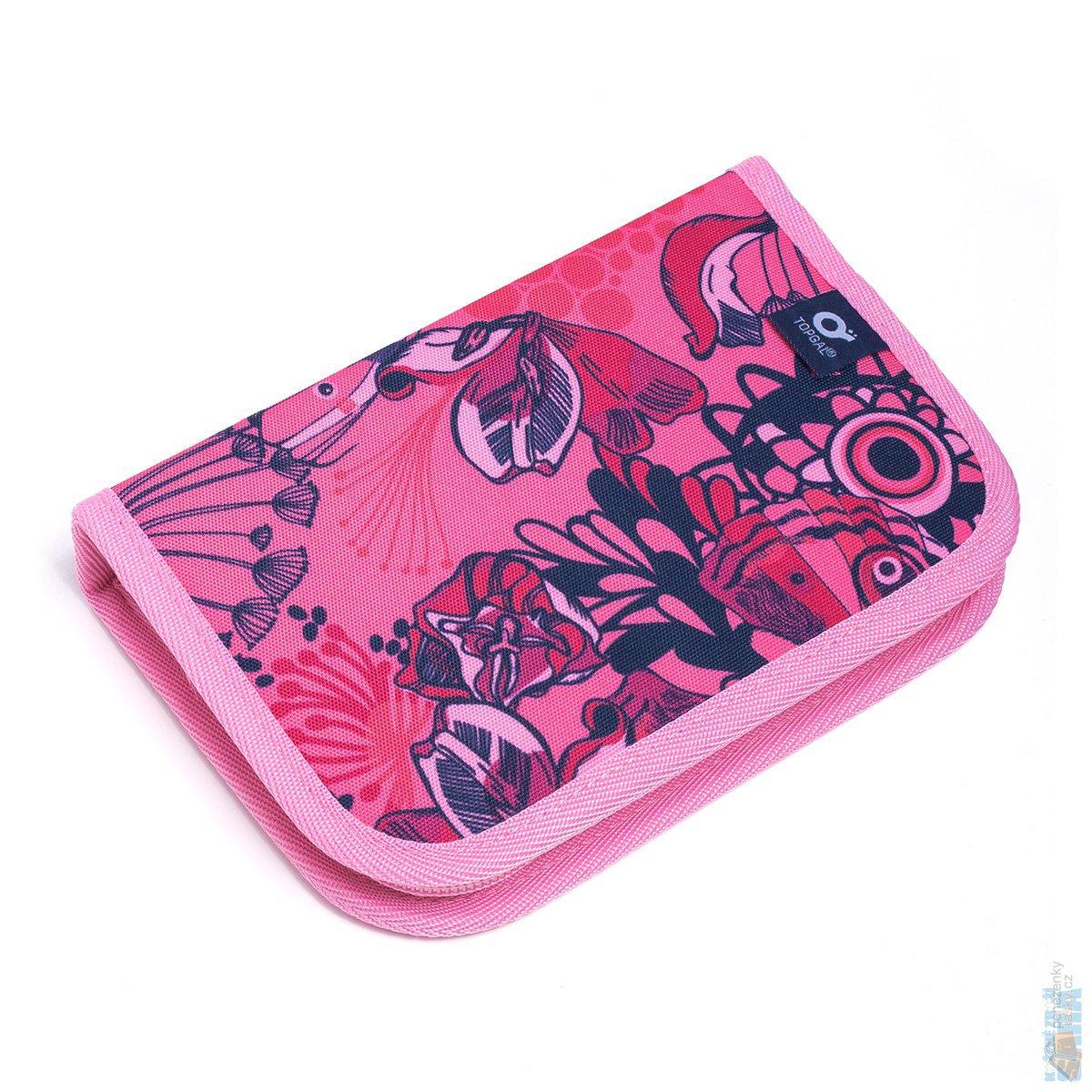 56727745d0f Topgal Sada pro školačku CHI 871 H pink SET large + penál CHI 899 H ...