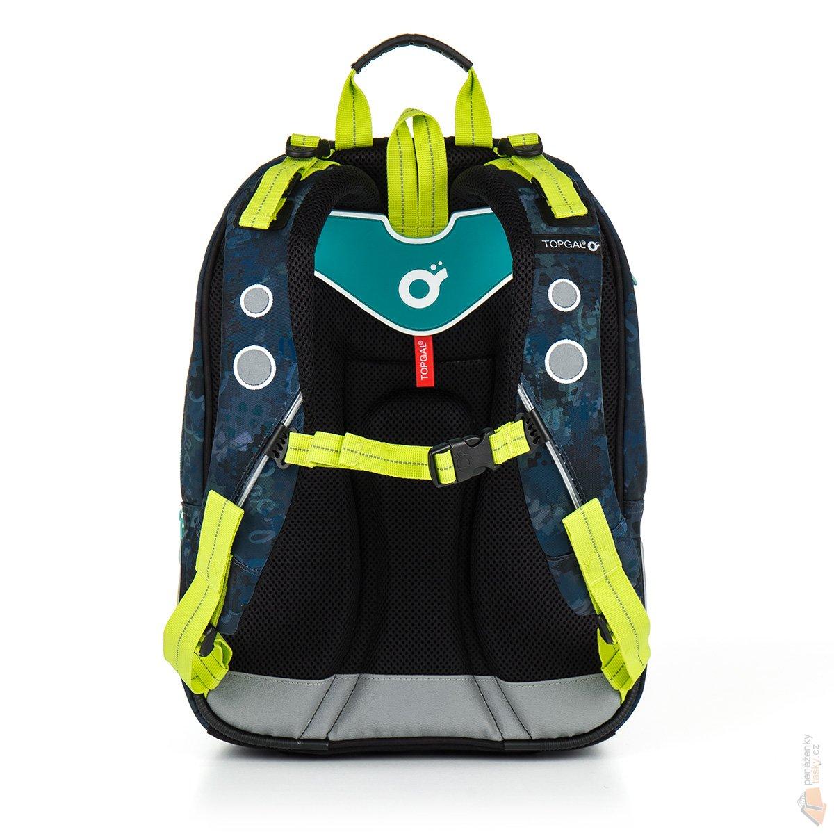 Topgal sada pro školáka set Small  Školní batoh CHI 878 D blue + ... aecaef81bb