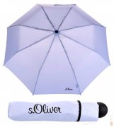 S´oliver deštník skládací s.Oliver Fruit-Cocktail - light blue 70801SO21
