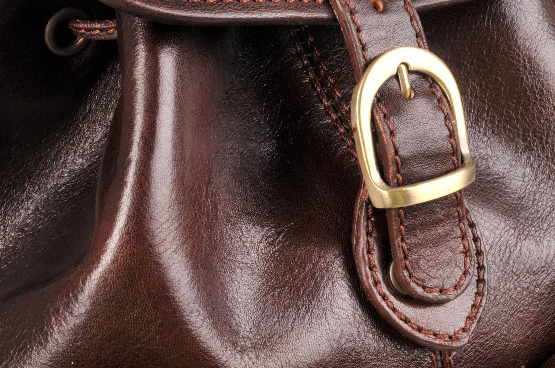 IL GIGLIO Kožený batoh 777 tmavě hnědý   Kabelky c6eb2bb4c8