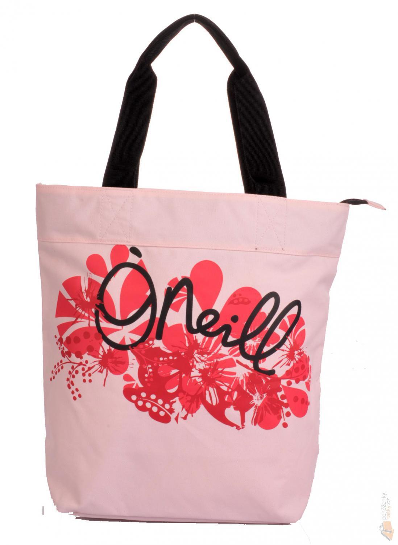 86b651938 O´neill Látková taška na rameno 059004-3870 sv.růžová s červeným potiskem
