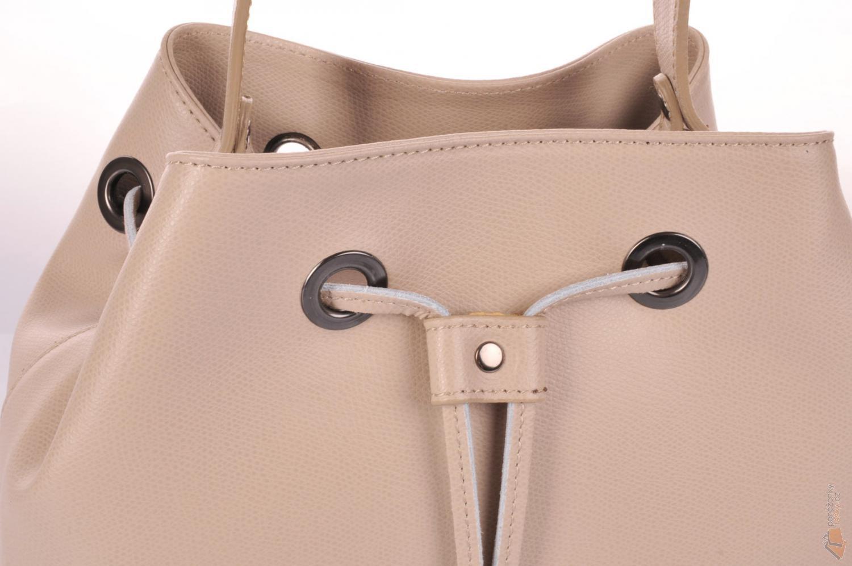 ITALY elegantní kožená kabelka - vak 5324 béžová poslední P ... 98a1fcf4693