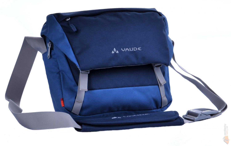 1b80a58dd VAUDE Látková klopnová taška přes rameno ROM II S modrá : Kabelky ...