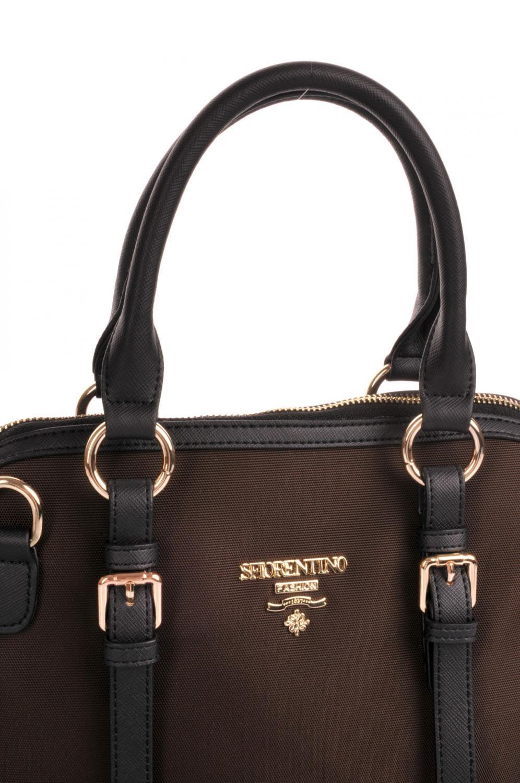 S.Fiorentino Elegantní kabelka P4-F074-5TB tmavě hnědá   Kabelky ... a0fbcfb5ed8