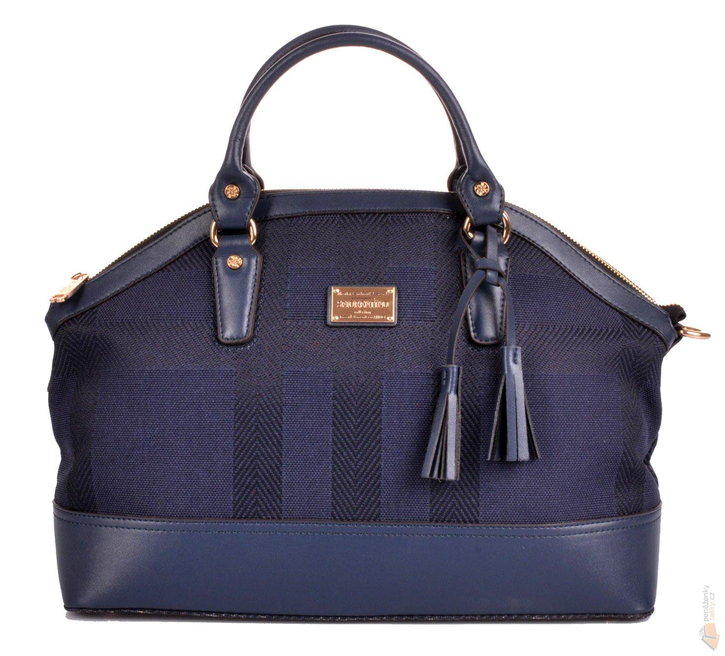 S.Fiorentino Elegantní látková kožená business kabelka D79-D4870-1ZZ ... 3ff980c0344