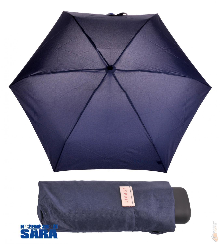 179d2d2dad949 Esprit dámský skládací deštník 50407 Esbrella modrý : Kabelky ...