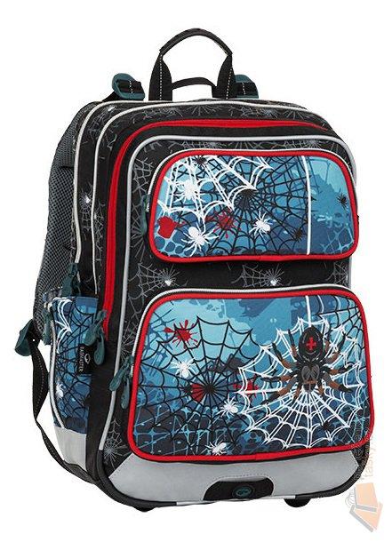 3f0fedae5ce Bagmaster Školní batoh pro prvňáčky GALAXY 8 B - pavouk + doprava zdarma