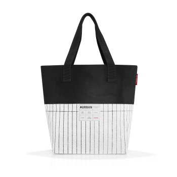 Reisenthel #urban bag - taška - paris black & white PP7049