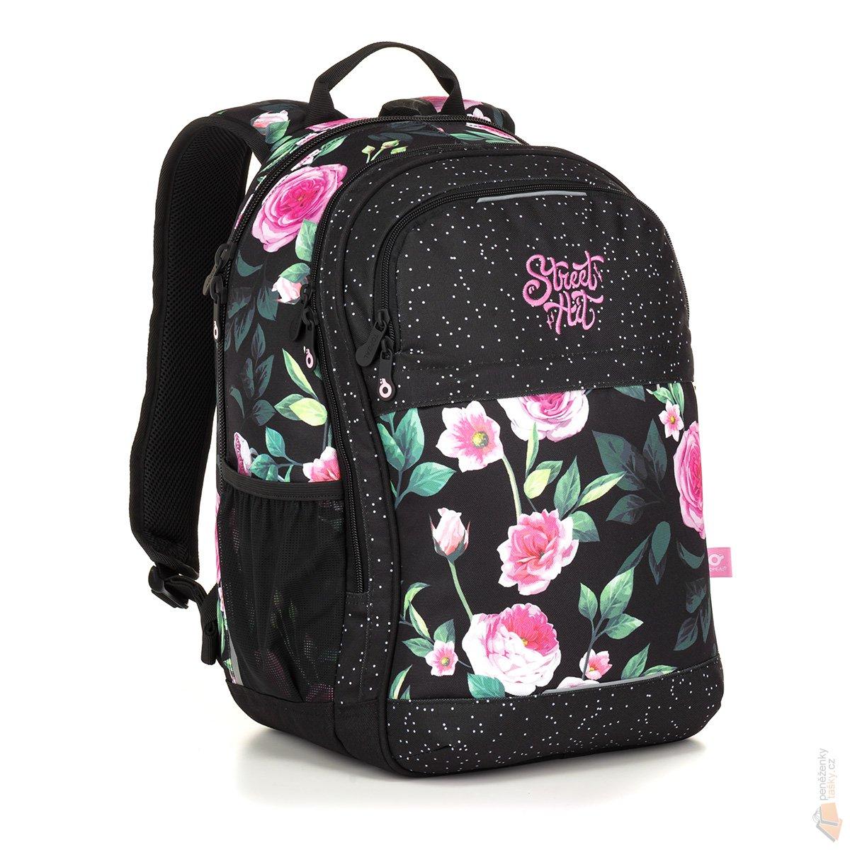 Topgal Studentský batoh RUBI 18025 G   Kabelky 9a432afdff
